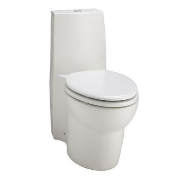 Kohler K-3564-HW1 Saile Elongated One-piece toilet with Dual Flush Technology - Honed White