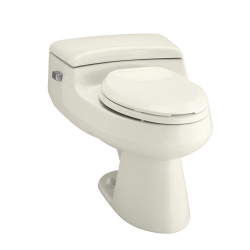 Kohler K-3597-96 San Raphael Comfort Height One Piece Elongated 1.0 gpf Toilet - Biscuit