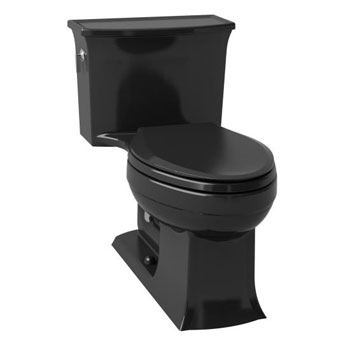 Kohler K-3639-7 Archer Class Five(R) Elongated One-Piece Toilet - Black