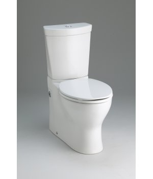 Kohler K-3654-0 Persuade Two Piece Elongated Dual Flush Toilet - White