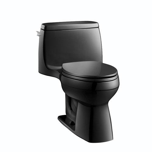 Kohler K 3810 7 Santa Rosa Comfort Height One Piece Compact Elongated Toilet