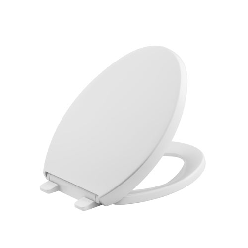 Kohler K-4008-0 Grip-Tight Reveal Q3 Elongated Toilet Seat - White
