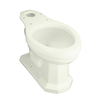 Kohler K-4258-NG Kathryn Comfort Height Toilet Bowl, Less Seat - Tea Green