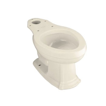 Kohler K-4317-47 Portrait Elongated Toilet Bowl - Almond