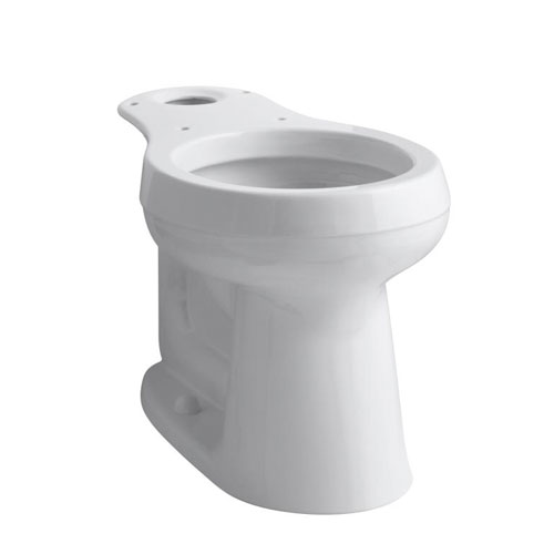 Kohler K-4347-NY Cimarron Comfort Height Round Front Bowl - Dune (Pictured in White)