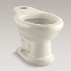 K-4355-47 Kohler Revival Elongated Toilet Bowl - Almond