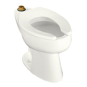 Kohler K-4368-0 Highcliff 1.6 gpf Elongated Toilet Bowl with Top Inlet - White