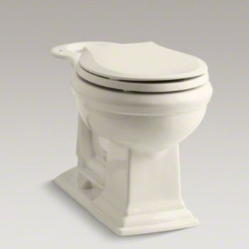 Kohler K-4387-96 Memoirs Comfort Height Round Front Bowl - Biscuit