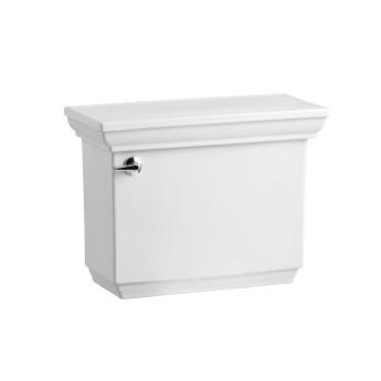 Kohler K-4473-0 Memoirs Stately Toilet Tank with Insuliner Tank Liner - White