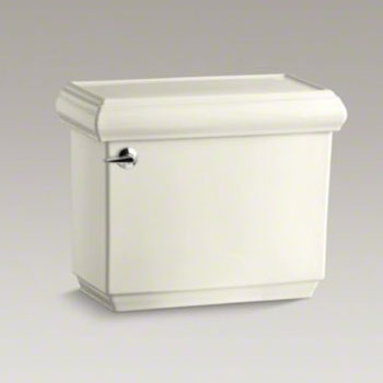 Kohler K-4485-96 Memoirs Classic Toilet Tank with Insuliner Tank Liner - Biscuit