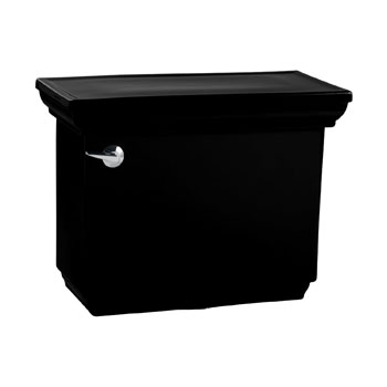 Kohler K-4492-7 Memoirs Stately Toilet Tank - Black