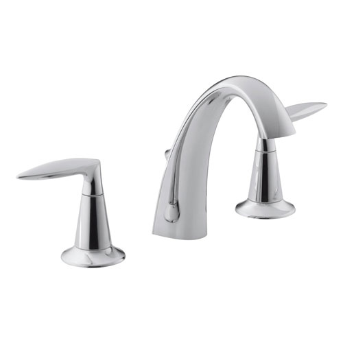 Kohler K-45102-4-CP Alteo Widespread Lavatory Faucet - Chrome