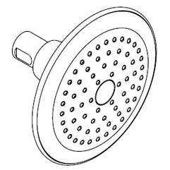 Kohler K-45123-CP Alteo Single Function Katalyst Showerhead - Chrome