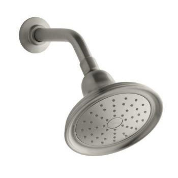 Kohler K-45413-BN Devonshire Single Function 2.0 gpm Katalyst Spray Showerhead - Brushed Nickel