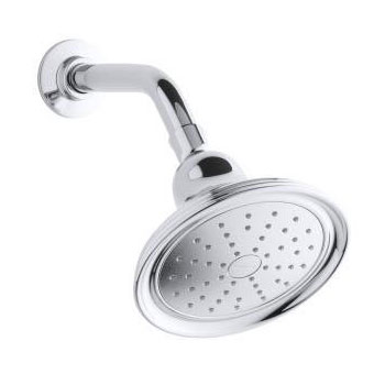 Kohler K-45413-2BZ Devonshire Single Function 2.0 gpm Katalyst Spray Showerhead - Oil Rubbed Bronze (Pictured in Chrome)