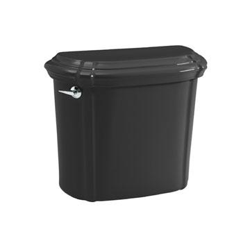 Kohler K-4607-7 Portrait Toilet Tank - Black