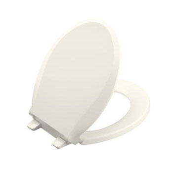 Kohler K-4639-NY Cachet Quiet-Close Quick Release Toilet Seats - Dune
