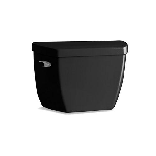 Kohler K 4645 7 Highline Classic 1 6 Gpf Toilet Tank With Pressure Lite Flushing Technology Black Faucetdepot Com