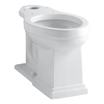 Kohler K-4799-7 Tresham Comfort Height Elongated Bowl - Black (Pictured in White)