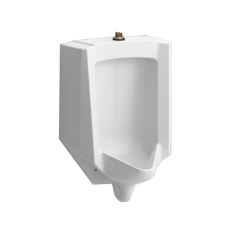 Kohler K-4991-ET-0 Bardon High Efficiency Wall Hung Urinal with Top Spud - White