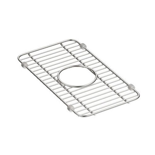 Kohler K-5139-ST Iron/Tones Smart Divide Small Sink Rack - Stainless Steel