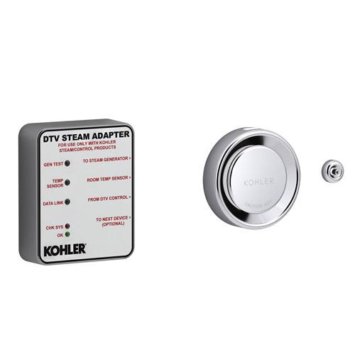 STEAM Adapter KIT KOHLER K-5548-K1-CP 5548-K1-CP DTV Single Polished Chrome