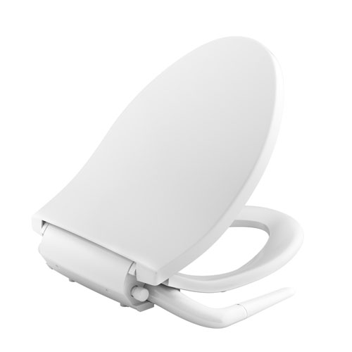 Kohler K-5724-0 Puretide Manual Cleansing Elongated Toilet Seat - White