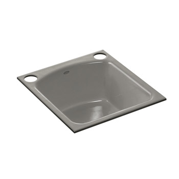 Kohler K-5848-2U-K4 Napa Undercounter Entertainment Sink - Cashmere