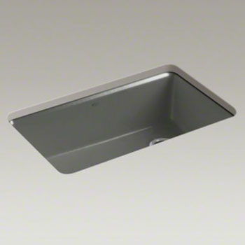 58 Kohler Riverby Single Bowl Undermount Kitchen Sink with Accessories ...