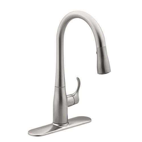 Kohler K 597 Vs Simplice Pulldown Secondary Faucet