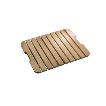 Kohler K-6027-NA Bayview Wood Grate/Shelf For Sink Stand