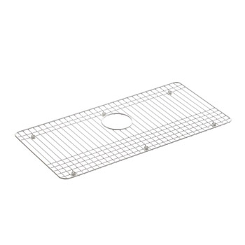 Kohler K-6062-ST Dickinson Bottom Basin Rack - Stainless Steel