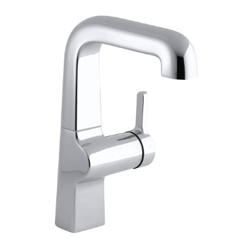Kohler K-6335-CP Evoke Secondary Single Control Faucet - Polished Chrome