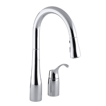kitchen connections chrome faucets three way en faucet