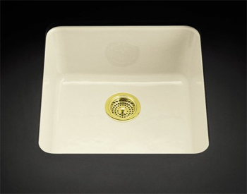 Cast Iron Kitchen Sink Manufacturers Cast iron kitchen sinks ceco and kohler cast iron kitchen sinks kohler k 6587 ka irontones self rimming or undercounter kitchen sink in black n tan pictured in biscuit workwithnaturefo