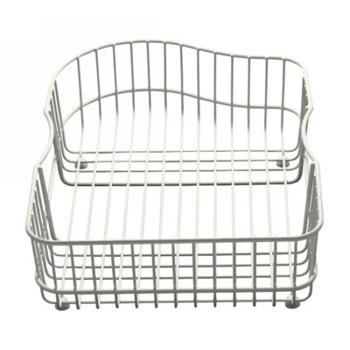 Kohler K-6603L-0 Hartland Wire Rinse Basket - White