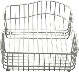 Kohler K-6603R-ST Hartland Wire Rinse Basket - Stainless Steel (Pictured in White)