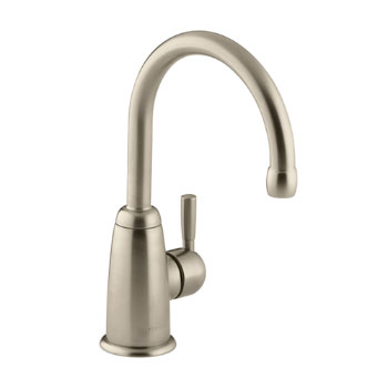 Kohler K-6665-BV Wellspring Contemporary Beverage Faucet - Brushed Bronze