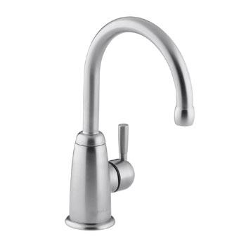 Kohler K-6665-G Wellspring Contemporary Beverage Faucet - Brushed Chrome