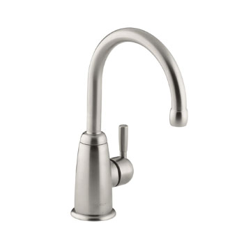 Kohler K-6665-VS Wellspring Contemporary Beverage Faucet - Vibrant Stainless
