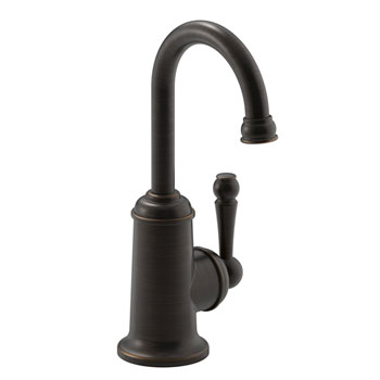 Kohler K-6666-F-2BZ Wellspring Traditional Beverage Faucet with Aquifer Water - Oil Rubbed Bronze (Pictured in Chrome)