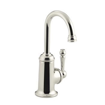 Kohler K-6666-SN Wellspring Traditional Beverage Faucet - Vibrant Polished Nickel