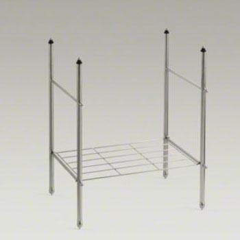 Kohler K-6880-BN Memoirs Table Legs - Brushed Nickel