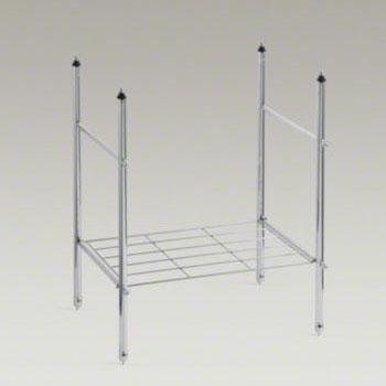 Kohler K 6880 Cp Memoirs Table Legs Chrome Faucetdepot Com