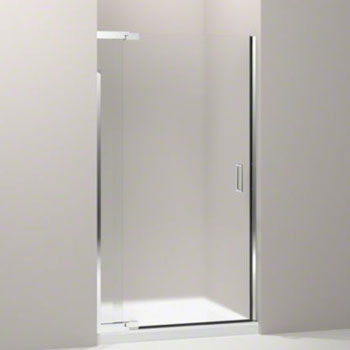 Kohler K-702013-D3-SH Purist Frameless Pivot Shower Door with 1/4