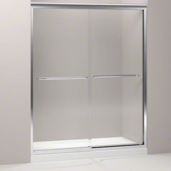 Kohler k 702207 l shp fluence 59 5 8 x 70 5 16 frameless for 70 inch sliding glass door