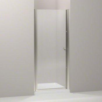 kohler k 702402 g54 mx fluence frameless pivot shower door with