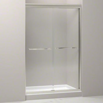 Kohler K-704413-L-NX Devonshire Frameless Sliding Shower Door with 3/8