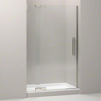 Kohler K-705704-L-NX Purist Frameless Pivot Shower Door with 3/8