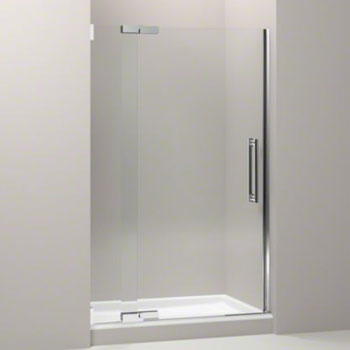 Kohler K-705704-L-SHP Purist Frameless Pivot Shower Door with 3/8